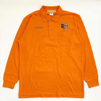 KIMYE風 L/S POLO SHIRT ORANGE