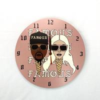 KIMYE風掛け時計