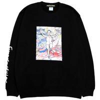 OSAKA SWEAT CREW BLACK