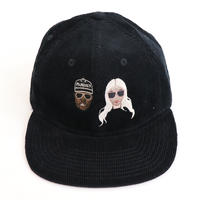 KIMYE風 CAP BLACK