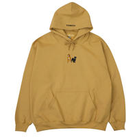FAMOUS DOGS HOODIE BRIGHT YELLOW