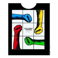 Gilbert and George  (COLOURED FRIENDS) Tシャツ/ ブラック