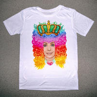 ‹‹ RAINBOW HAIR CHER ›› Tシャツ