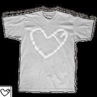 COCKHEART Tシャツ/霜降りグレー