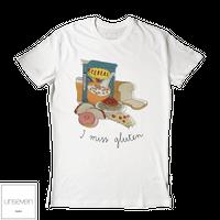 unseven (I MISS GLUTEN) Tシャツ