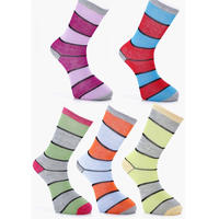‹‹  MULTI STRIPE SOCKS ›› ソックス (5Pack)