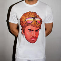 PHILIP NORMAL ‹‹ GEORGE MICHAEL ›› Tシャツ