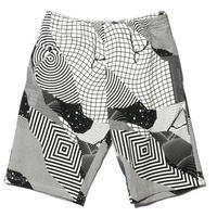 BackChannel-FELIPE PANTONE FULL PRINT SWEAT SHORTS