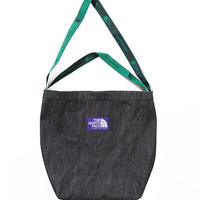 THE NORTH FACE PURPLE LABEL Denim Logo Tape Tote
