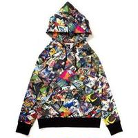 applebum reggae sweat parka