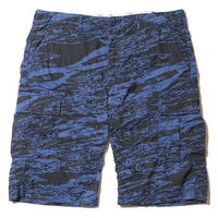 BackChannel-GHOSTLION CAMO CARGO SHORTS