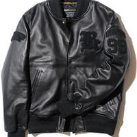 BackChannel-LEATHER STADIUM JACKET