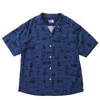 THE NORTH FACE PURPLE LABEL Geometric Print H/S Shirt