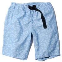 BackChannel-PAISLEY CHAMBRAY EASY SHORTS