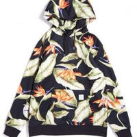 APPLEBUM Flower Fleece Parka