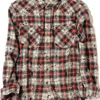 BackChannel PAISLEY CHECK SHIRT