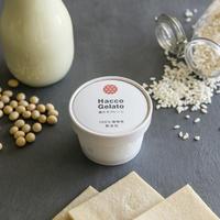 Hacco Gelato 100%植物性 発酵酒粕ジェラート 6個セットBOX(送料無料 ※1)