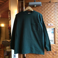 GOOD WEAR L/S POCKET TEE