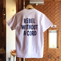 YELLOW RAT REBEL WITHOUT A CORD POCKET TEE