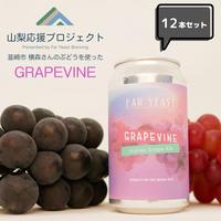 [完売しました]山梨応援プロジェクト#3 GRAPEVINE 12本セット 【送料無料】