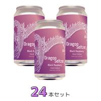 Dragon Seltzer Blackraspberry 24本セット【送料無料】