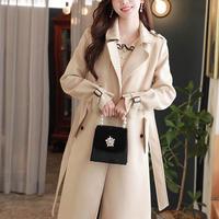 ボタンフラップトレンチコート・68 (Button flap trench coat)p102699