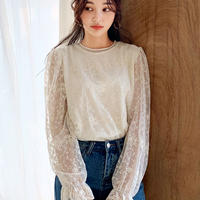 ma 36刺繍レースブラウス・全2色・(Embroidered lace blouse ・ 2 colors )b54548