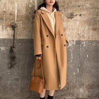 ma70  ダブルボタンロングコート・全3色・(Double button long coat )・ 3 colors   5t4063