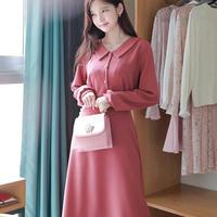 ベーシックロングワンピース・45 (Basic long dress)p102181