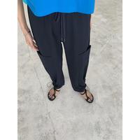 8月中旬-下旬入荷分 ビッグポケット裾ドロストパンツ(00606)