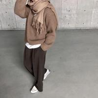 【sold out】タックワイドパンツ