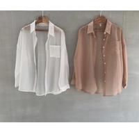 受注販売 Sheer Shirt