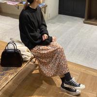 Flower Print Skirt  (00439 )