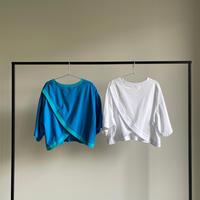 バッククロスオープンTシャツ