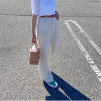 【終了】受注販売 Linen Straight Pants