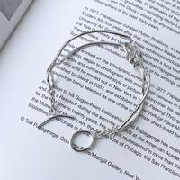 silver925 オーバルワイヤーブレスレット
