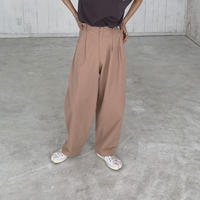Wide Tapered Pants(00524)