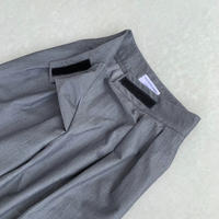 【再入荷調整中】Front wrap Tuck pants(00618)
