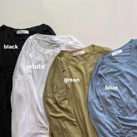 【再入荷調整中】Sheer Cut Tops (00443)