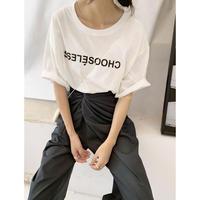 フロントロゴルーズTシャツ (00498)
