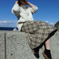 oblique line skirt