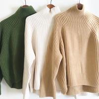 turtle neck knit