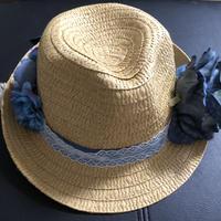 青い麦わら帽子
