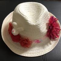 うさちゃんの麦わら帽子