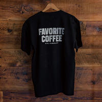 FAVORITE COFFEE T-SHIRT (BLACK)