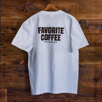 FAVORITE COFFEE T-SHIRT (WHITE)