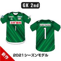 2021シーズンオーセンティックユニフォーム GK2ndモデル