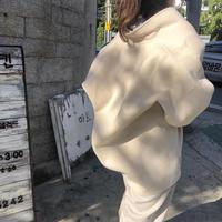 reversible handmade coat