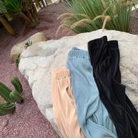 Pleated Pocket Pants