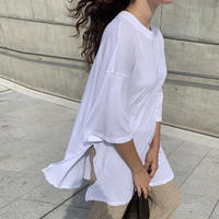 Side slit Box Tshirts